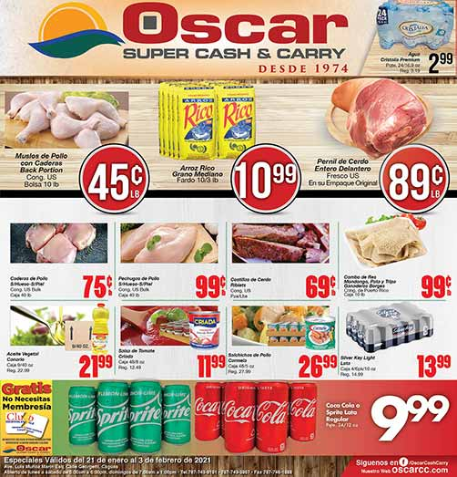 Shopper de Oscar Super Cash & Carry
